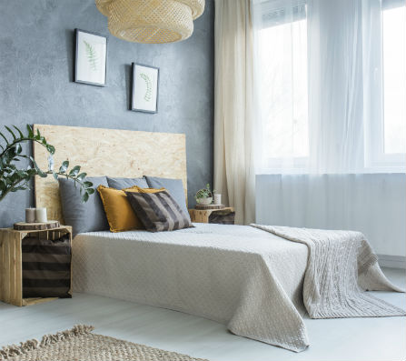 grey-bedroom-with-bed