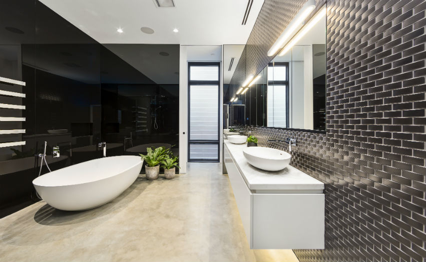 modern-black-and-grey-tiled-bathroom